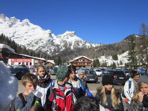 Our Southafrican partners in Val di Zoldo (italian Alps)