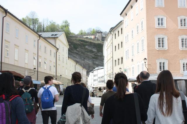 Passeggiata a Salisburgo