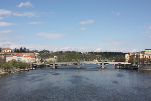 Vista dal Ponte Carlo