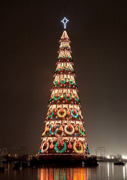 Albero Di Natale Grande.Il Brasile A Natale Bf La Voce Del Bruno Franchetti
