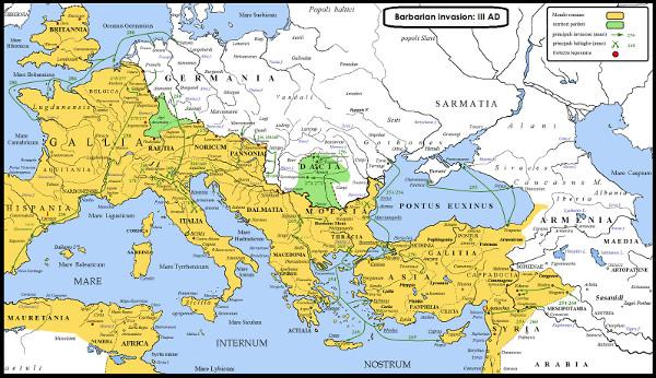 Impero romano terzo secolo
