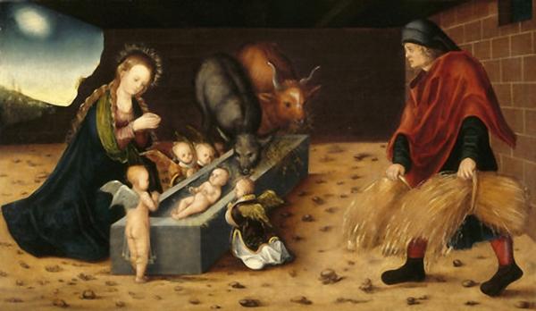 Natività, Lucas Cranach il vecchio (1472–1553)