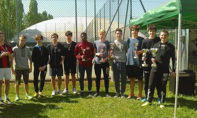 Premiazioni orienteering 2016
