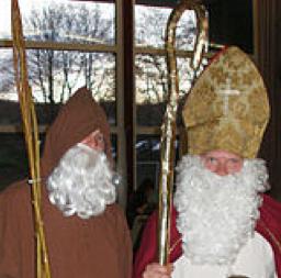 Knecht Ruprecht and St. Nikolaus