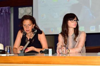 Lucia Annibali e Giusi Fasano presentano il libro «Io ci sono. La mia storia di non amore».